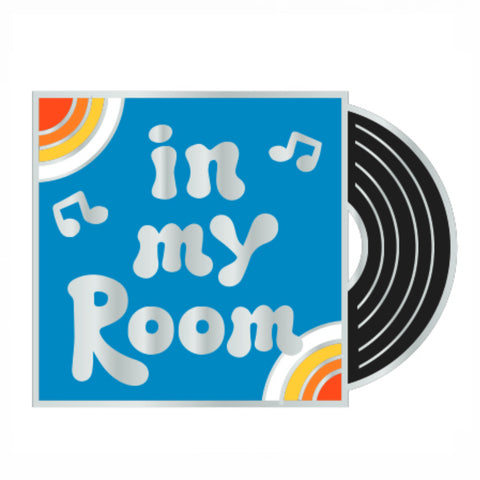 In My Room Record Enamel Pin