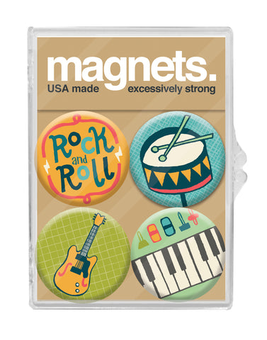 Rock and Roll Magnet Pack