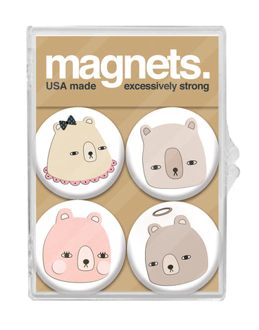 Bear Portraits Magnet Pack
