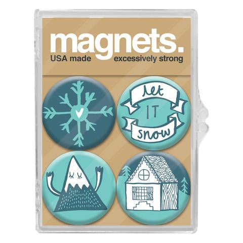 Let It Snow Magnet Pack