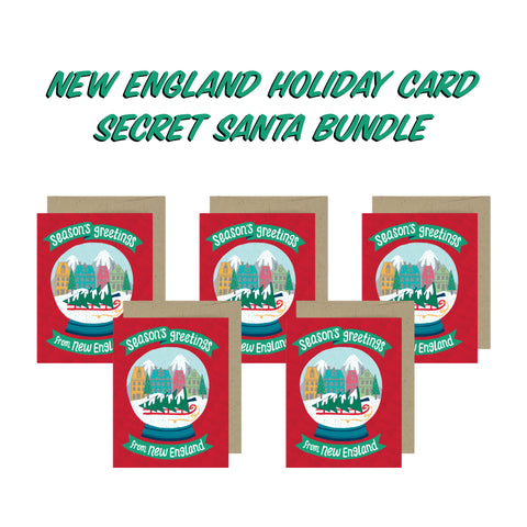 Secret Santa Bundle - Season's Greetings from New England