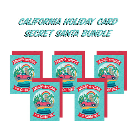 Secret Santa Bundle - Season's Greetings from California