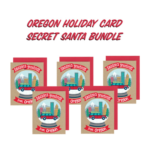 Secret Santa Bundle - Season's Greetings from Oregon