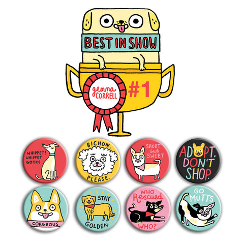 Best in Show Buttons • Pack #1