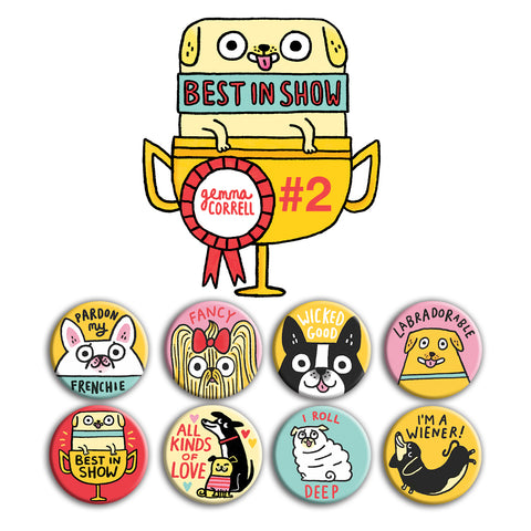 Best in Show Buttons • Pack #2