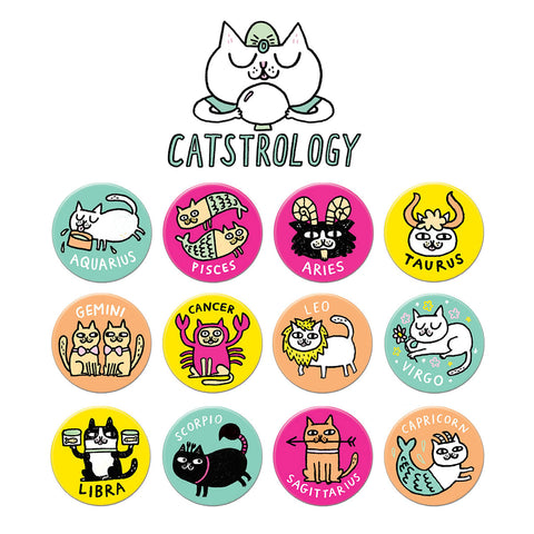 Catstrology Buttons Collector's Edition