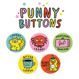 Punny Buttons • Pack #2