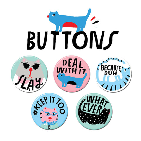 I Can't Even Buttons • Pack #2