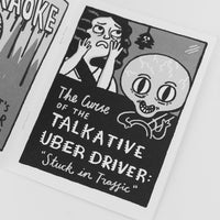 Real Life Horror Movies Zine by Gemma Correll