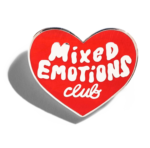 Mixed Emotions Club Pin by Tuesday Bassen