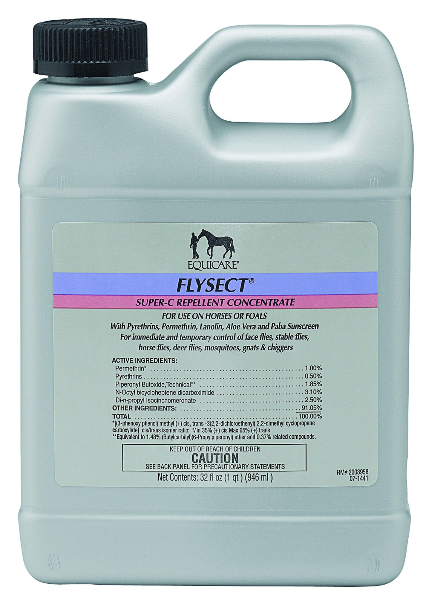 Equicare Flysect Super-C Repellent Concentrate