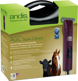 Andis AGC2 Super 2-Speed Horse Clipper With T-84 Blade