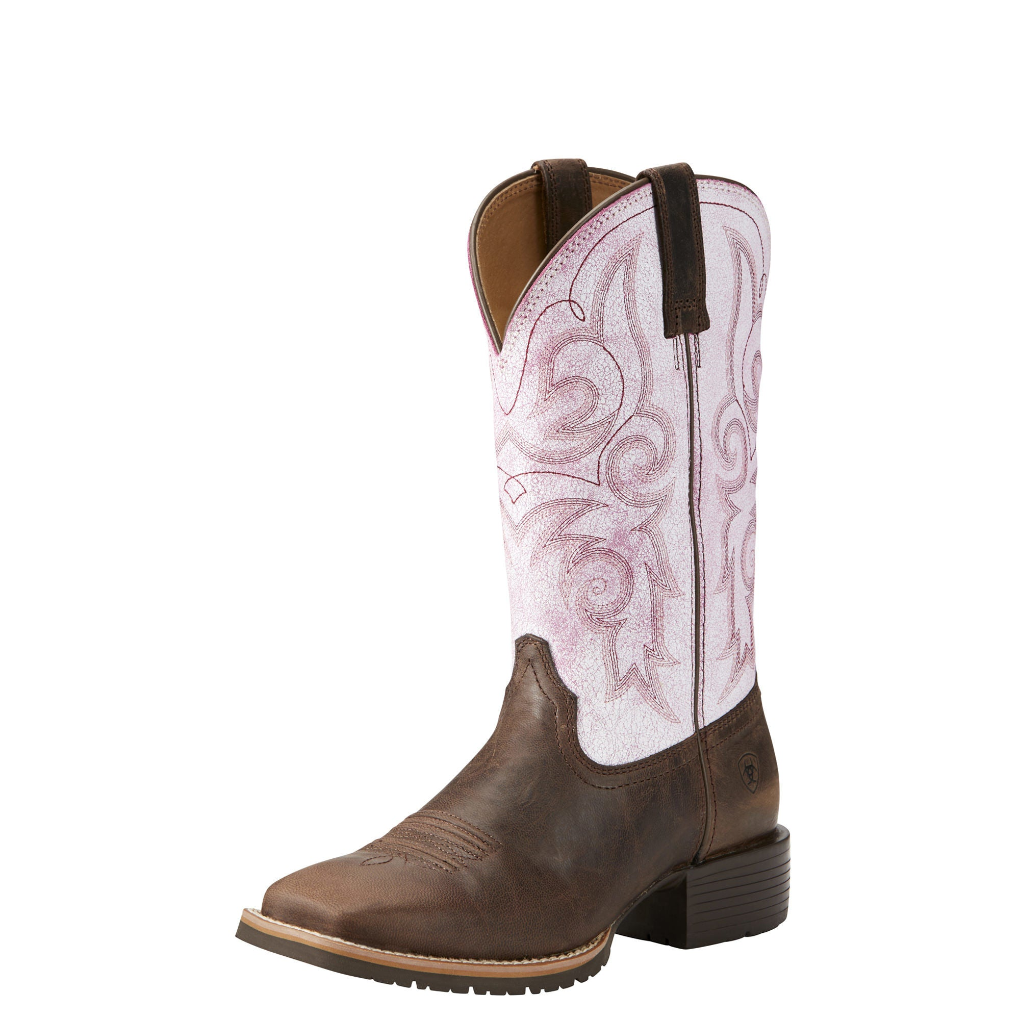 Women's Ariat Hybrid Rancher Wide Square Toe Boot