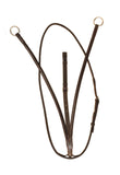 Tory Leather Horse Square Raised Running Martingale