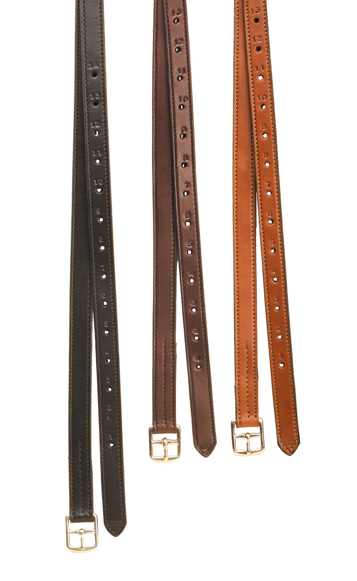 "54"" Non Stretch Stirrup Leathers Backed With Nylon"
