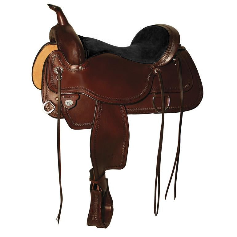 1651 Topeka Flex2® Trail Saddle