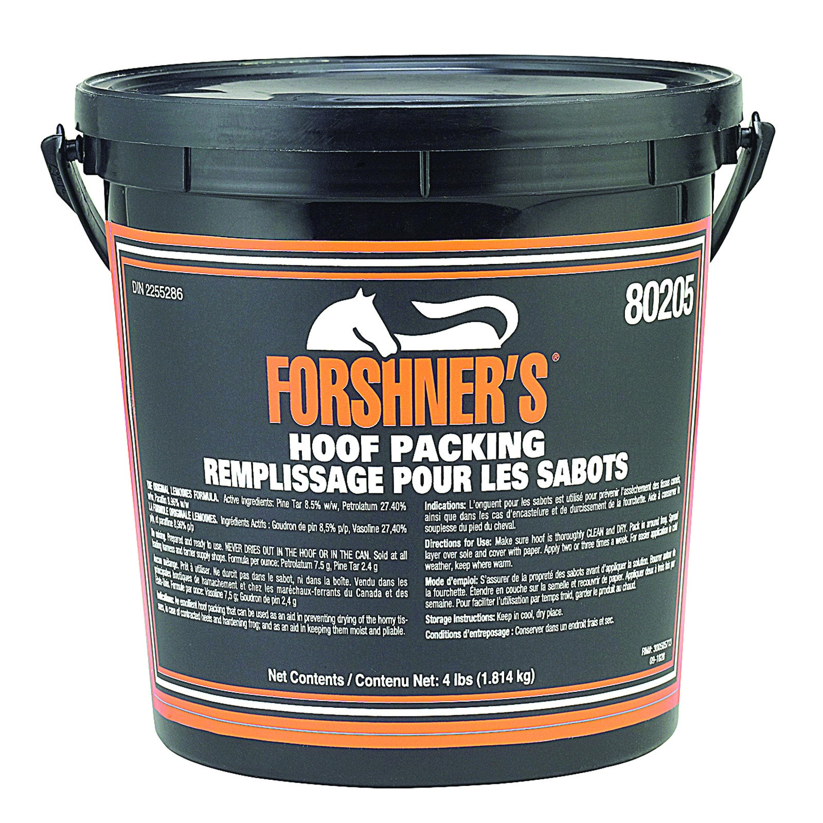 Forshner's Medicated Hoof Packing- 4lb