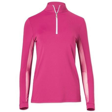 Ladies' Tailored Sportsman IceFil® Zip Shirt