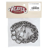 Weaver English Curb Chain With Hooks Sets