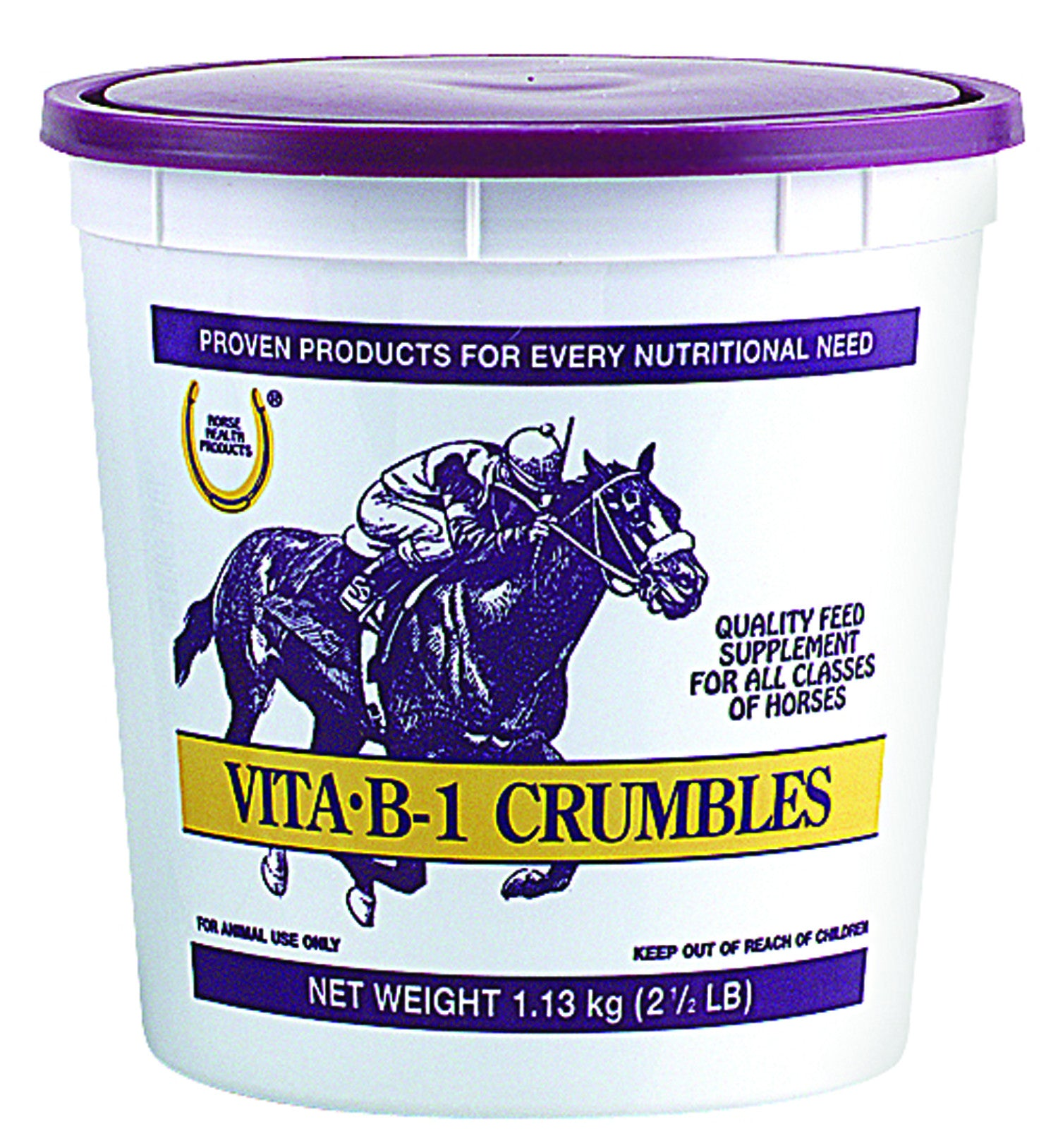 Vita B-1 Crumble Feed Supplement For Horses
