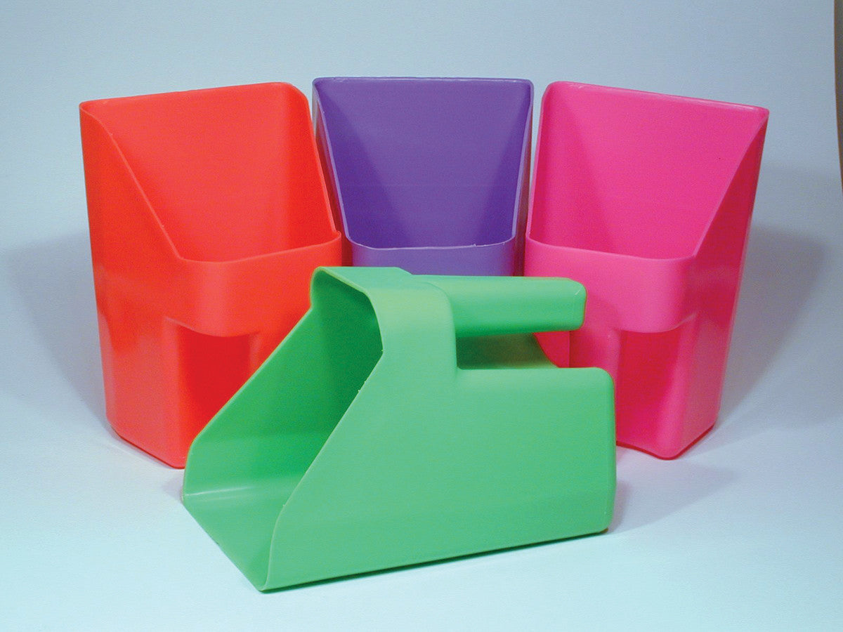 Neon Plastic Scoop