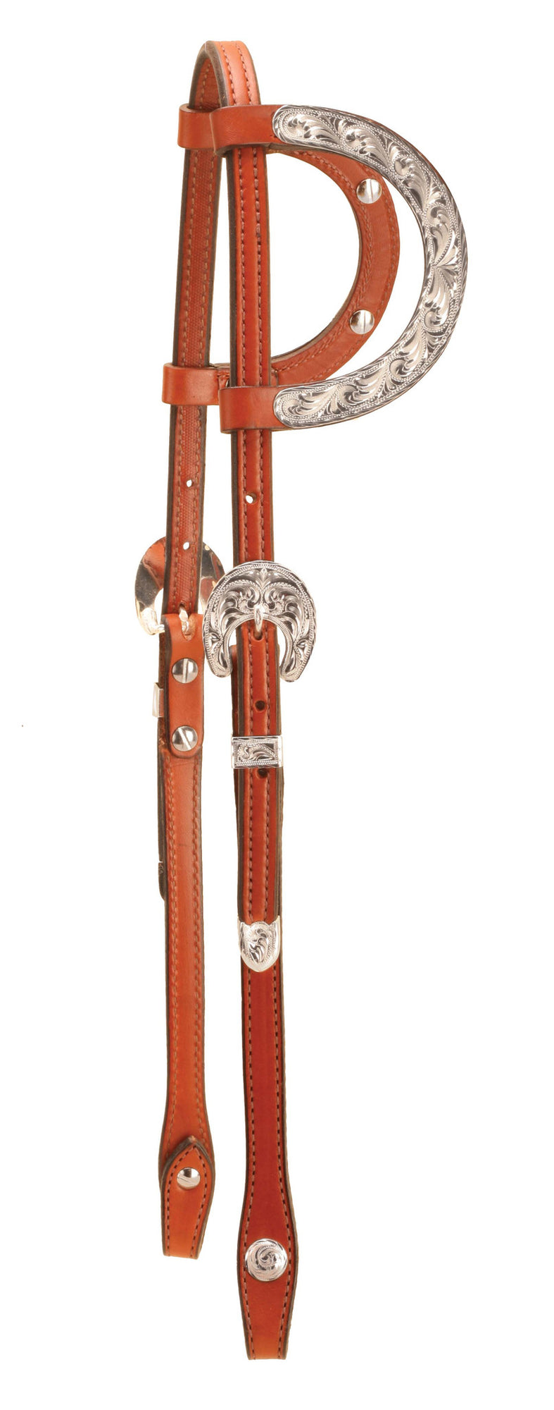 Oklahoma Silver Double Ear Headstall
