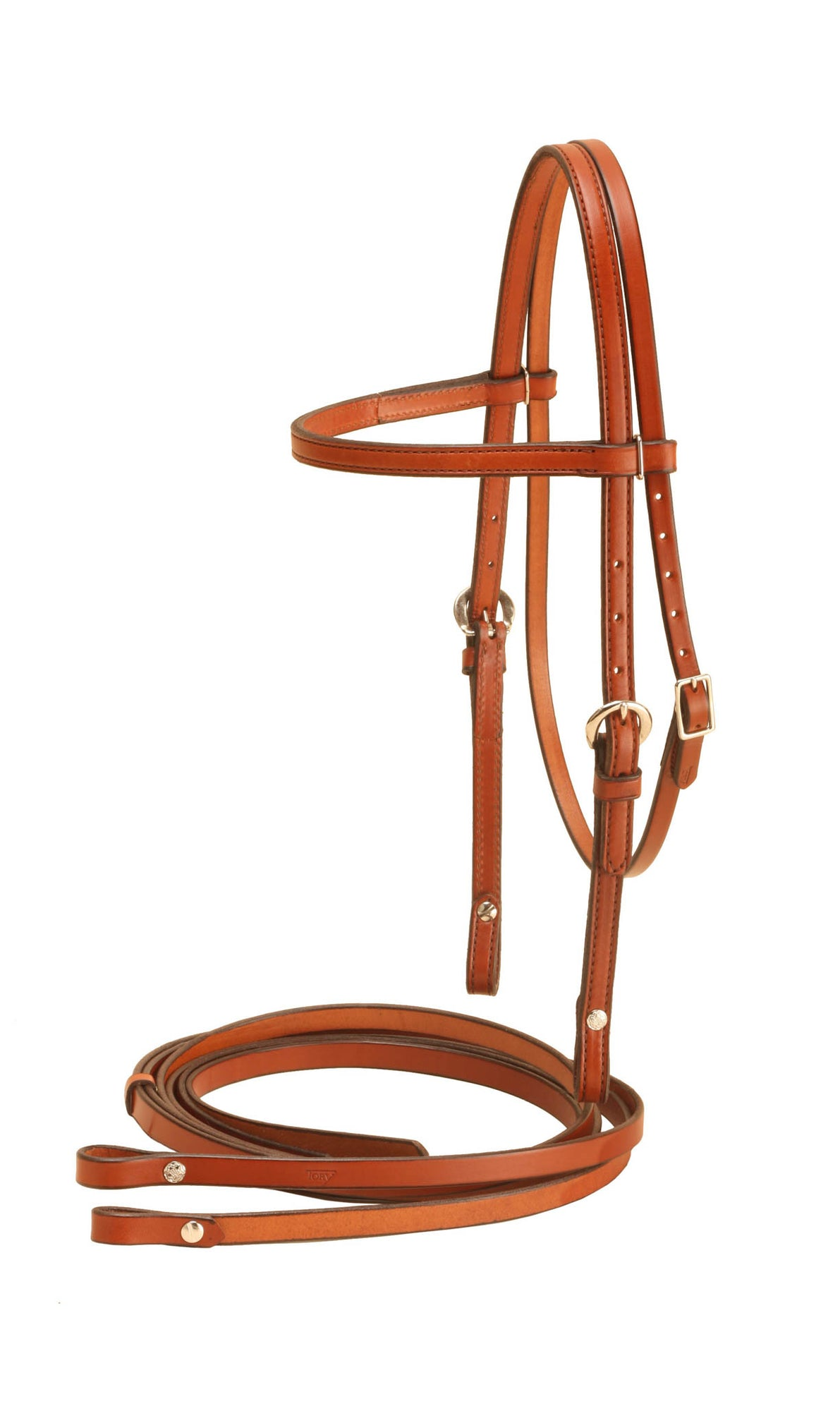 "Tory Leather 5/8""  Brow Band Filling (Headstall and Reins)"