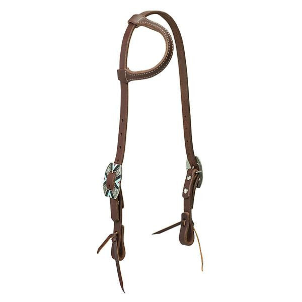 Weaver Working Cowboy Sliding Ear Headstall