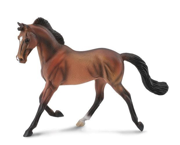 Breyer CollectA Bay Thoroughbred Mare