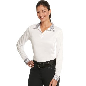 Ovation Destiny Evercool Long Sleeve Show Shirt-Ladies