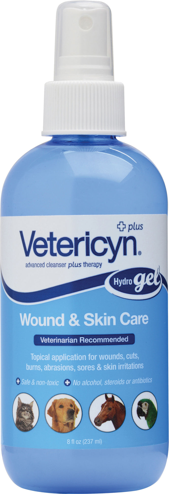 Vetericyn +Plus All Animal Wound & Skin Care Hydrogel