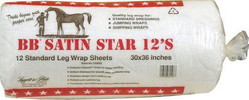 Bb Satin Star Leg Wrap