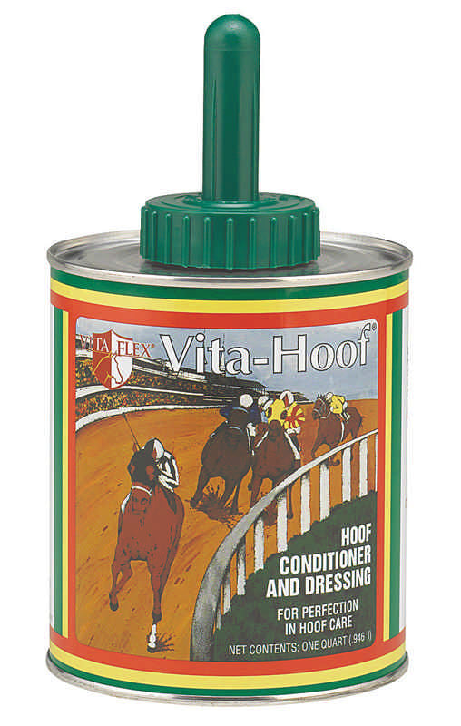 Vita-Hoof Conditioner With Brush For Horses