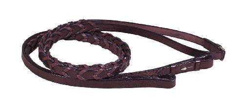 Tory Leather Horse Laced Reins