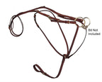 Tory Leather Bridle Leather German Martingale
