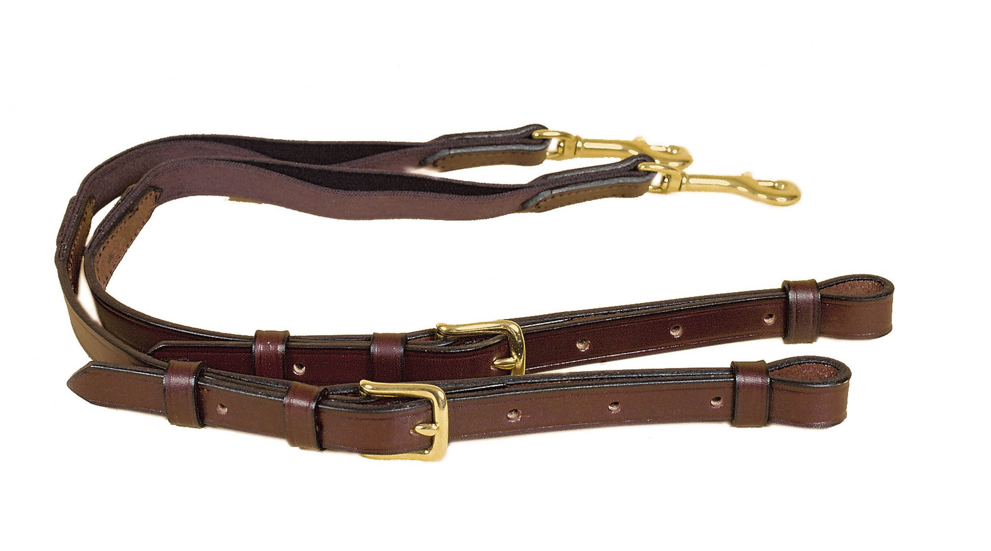 Tory Leather Bridle Leather And Elastic Pony Side Rein