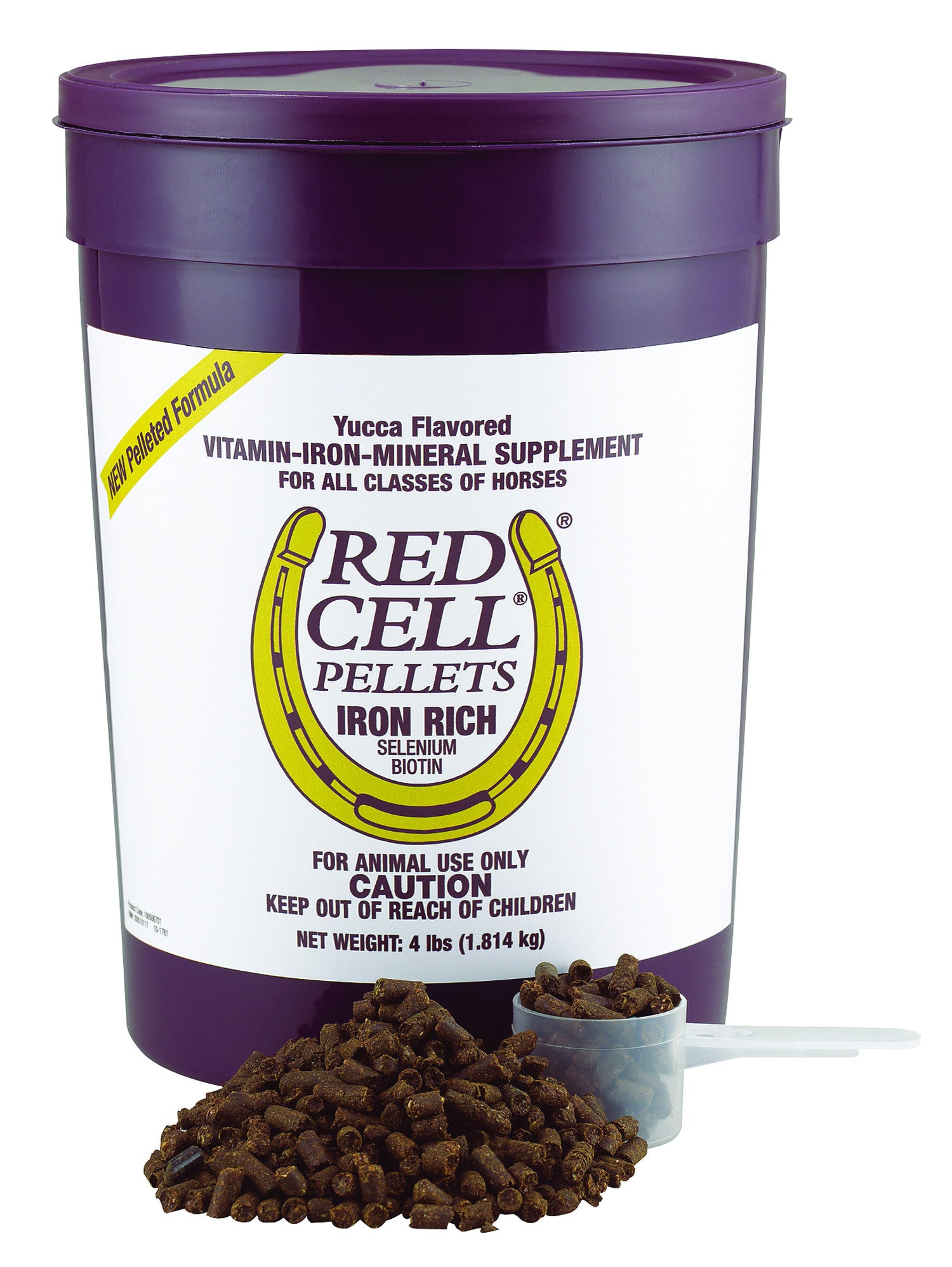 Red Cell Pellet Iron Supplement For Horses
