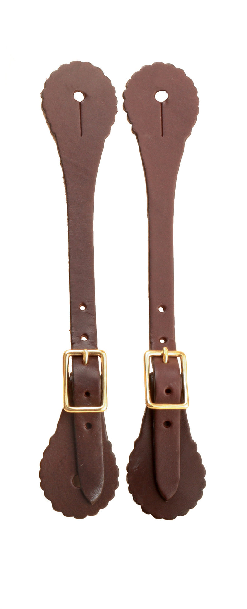 Tory Leather Concho Style Spur Strap