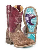 Kid's Tin Haul Free Spirit Native Bear Sole Boot