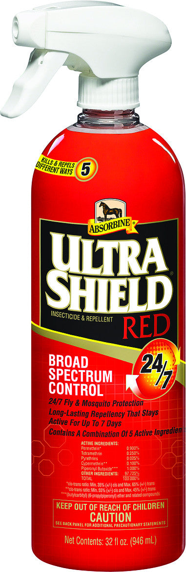 Absorbine Ultrashield Red Insecticide & Repellent