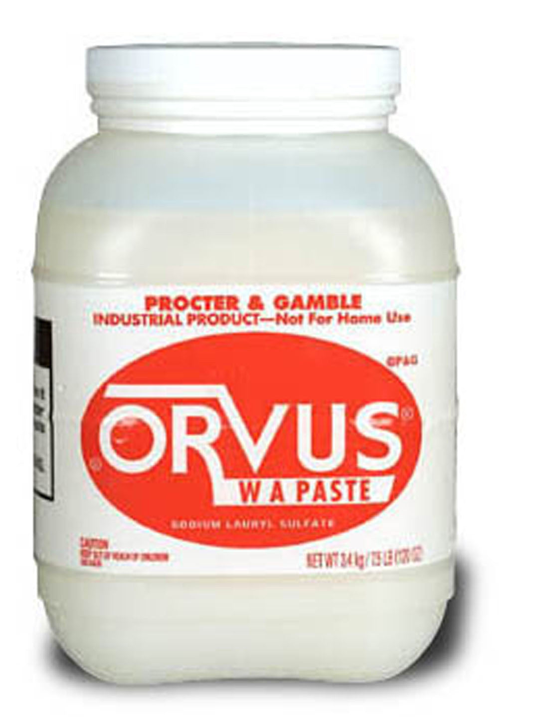 Orvus W A Paste Surfactant Cleaner
