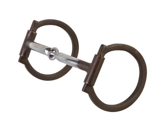 Weaver Professional Offset Antique Snaffle Dee Bit