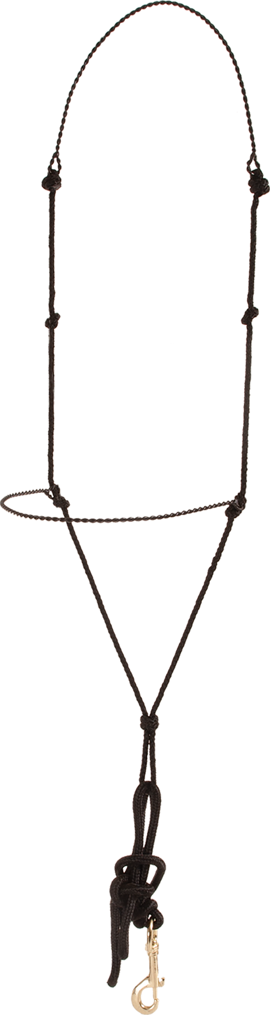 Mustang Twisted Wire & Rope Training Headsetter