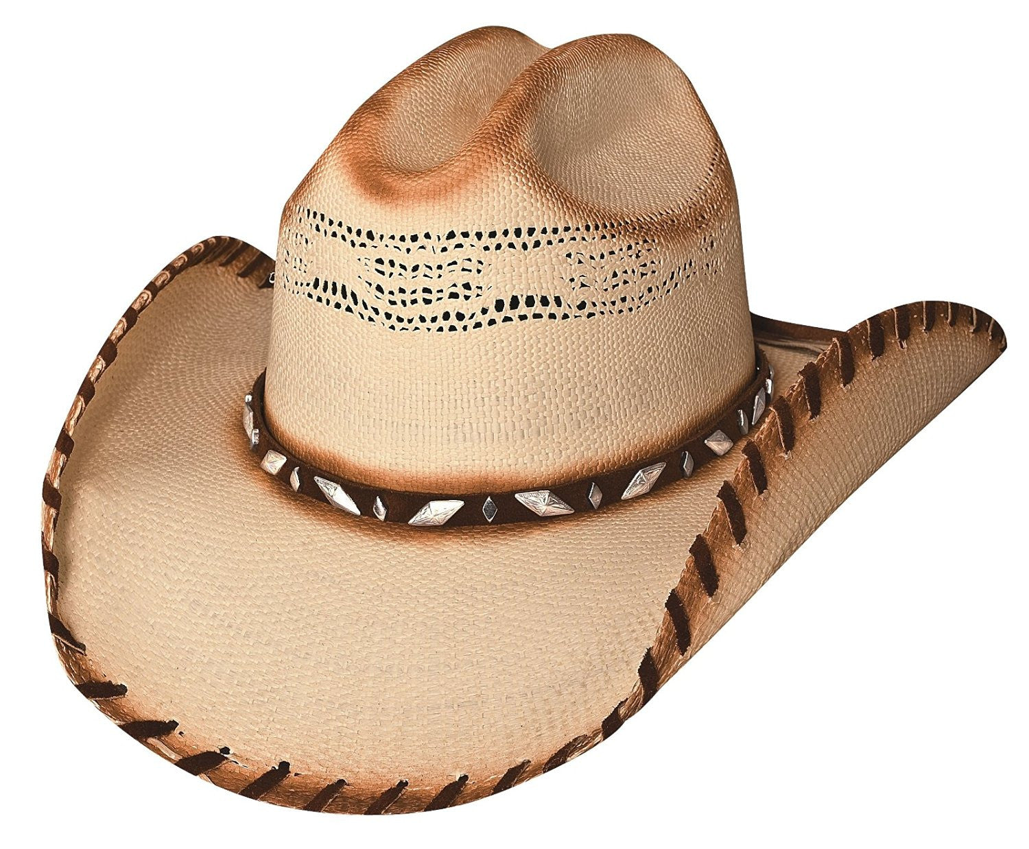 Ladies' Terri Clark Poor Poor Pitiful Me Bangora Straw Hat