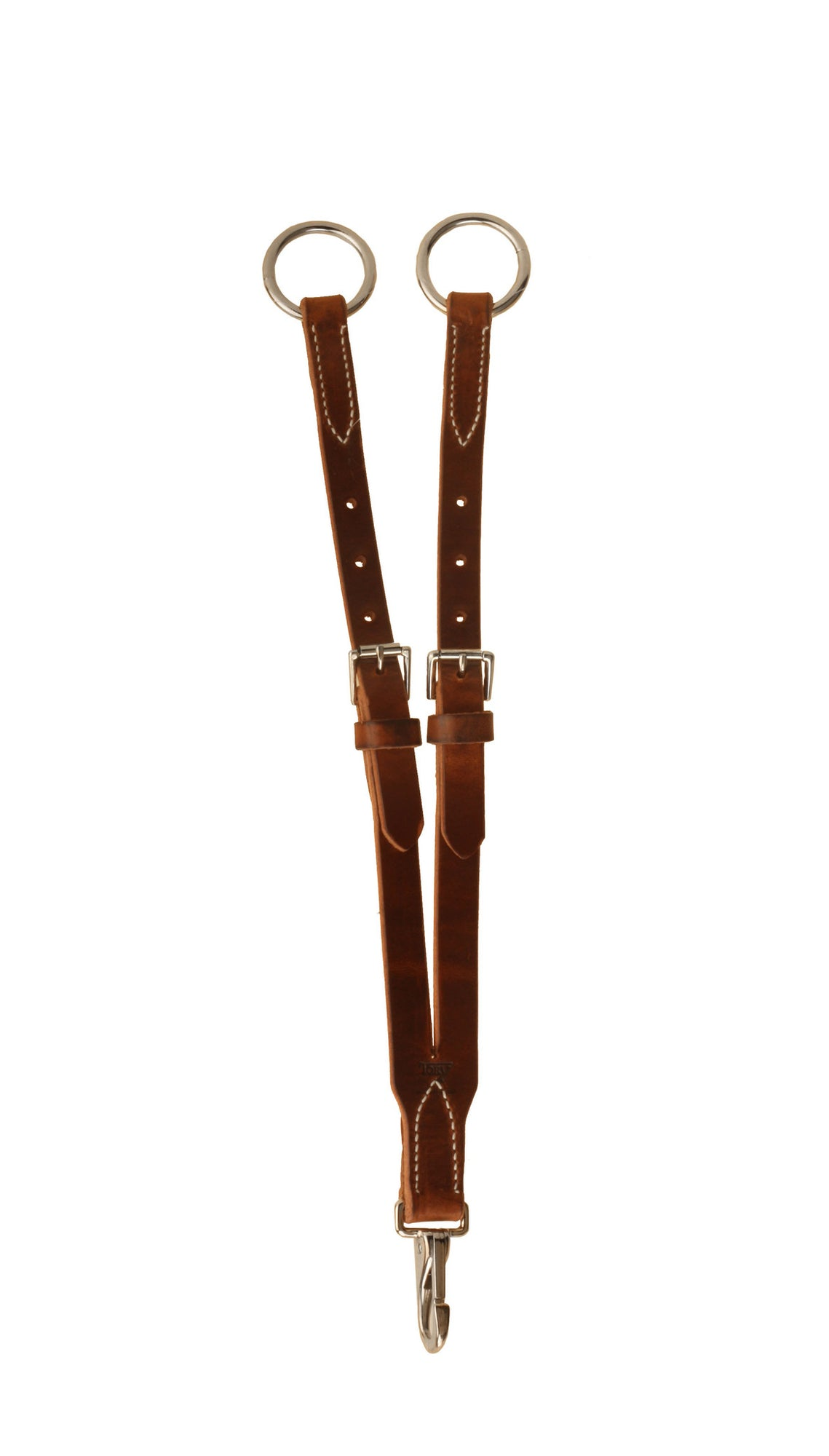 Tory Leather Harness Leather Short Training Fork