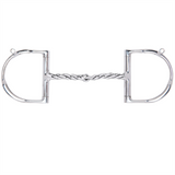 Myler Dee with Hooks with Stainless Steel Twisted Snaffle MB 09T by Myler