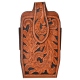 3D Natural Acorn Tooled Large Smartphone Holder