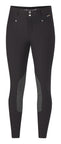 Black breeches with grey kneepatches