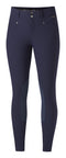 Navy breeches with lighter navy kneepatches