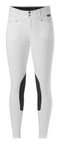 White breeches with black kneepatches